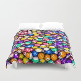 Poolhall Junkies Duvet Cover