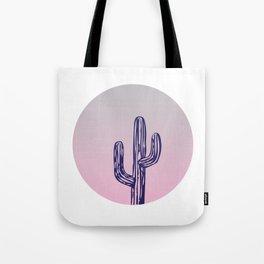 Circle Cactus Tote Bag