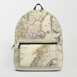Vintage Map - Spruner-Menke Handatlas (1880) - 64 Scandinavia to the Calmar Union, 1397 Backpack