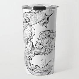 Betta Fish Travel Mug
