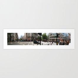 Central London Panorama #1 Art Print