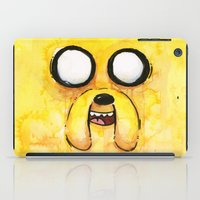 jake iPad Cases featuring Jake Face by Olechka