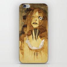 she was here iPhone & iPod Skin