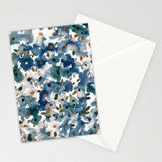 Georgia Floral Blue Stationery Cards