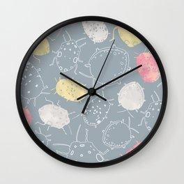 Water Bugs Wall Clock