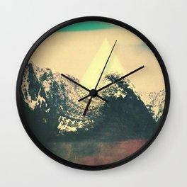 Trrangle Wall Clock