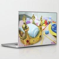 crown Laptop & iPad Skins featuring Crown by Faith Buchanan