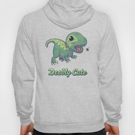Deadly Cute Raptor Hoody