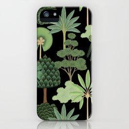 Dark jungle iPhone Case