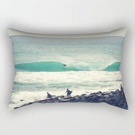 Morning Barrel Rectangular Pillow