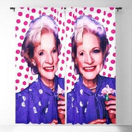 Betty White - Pop Art Blackout Curtain
