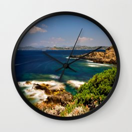 Pointe du Langoustier Wall Clock
