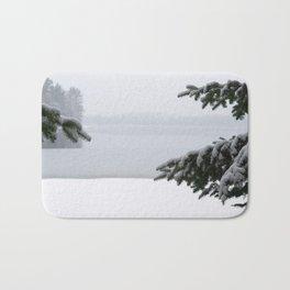 Winter window Bath Mat