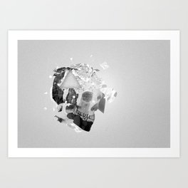 Strange Shapes Art Print