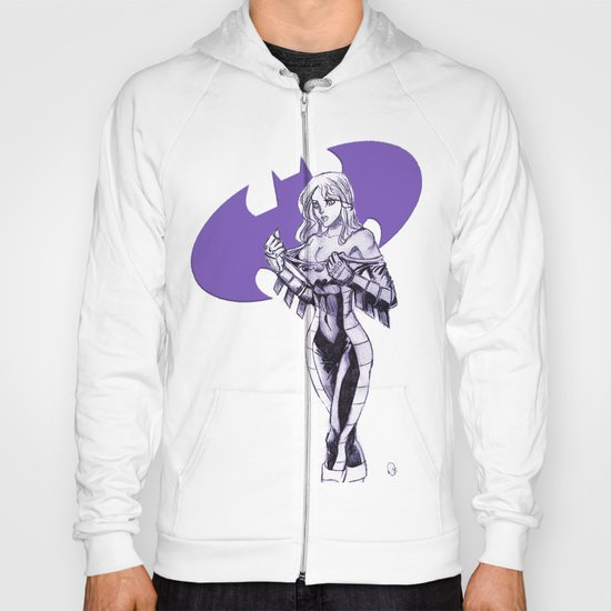 Batgirl Stephanie - Purple Hoody