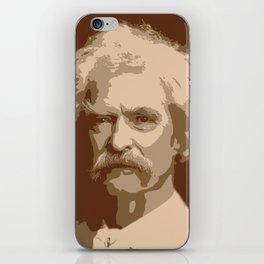 Mark Twain iPhone Skin