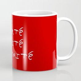 motto of France 4  liberté, égalité, fraternité. Coffee Mug