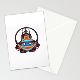 Meditating              Stationery Cards