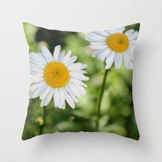 Three Lovely Ladies Throw Pillow