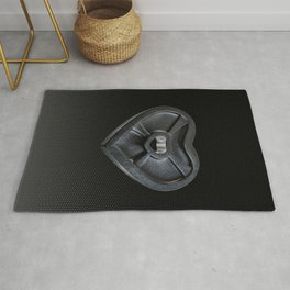 Lift With Your Heart Rug