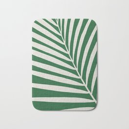 Minimalist Palm Leaf Bath Mat