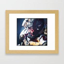 Iron Man Digital Painting  Framed Art Print