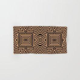 African Geometric Tribal Pattern 2 Hand & Bath Towel