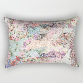 Birmingham map Rectangular Pillow
