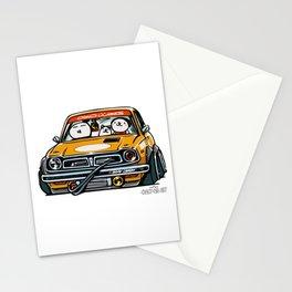 Crazy Car Art 0153 Stationery Cards