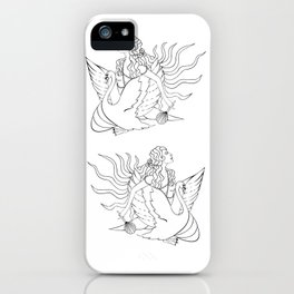 The Lady Aphrodite, The Golden Kypria. iPhone Case