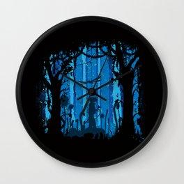 Toxic Jungle Wall Clock