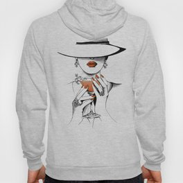 Lady In The Hat Hoody