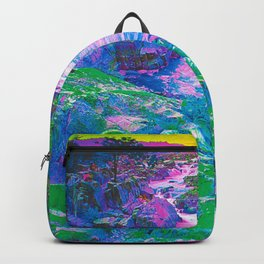 Psychedelic Falls Backpack