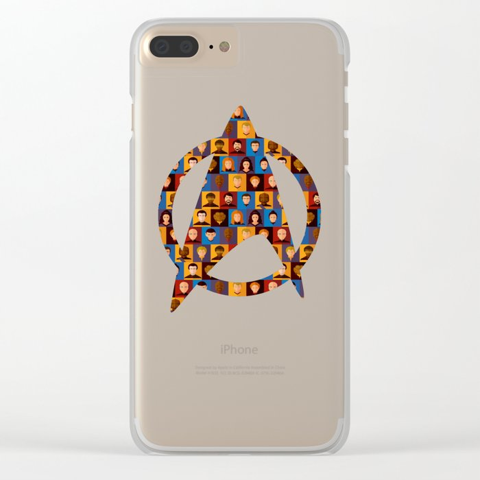 STARFLEET Clear iPhone Case