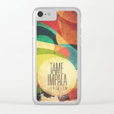 Tame Impala Lonerism Clear iPhone Case