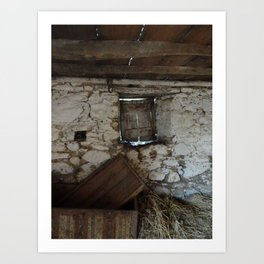 In a Crooked House Art Print