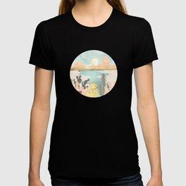 Retro Desert Oasis T-shirt