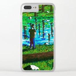 Nice Catch Clear iPhone Case