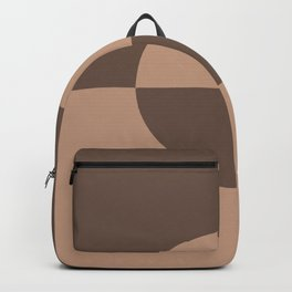 Sand Beige Mid-tone Brown Circle Design 2 Behr 2021 Color of the Year Canyon Dusk Moose Trail Backpack