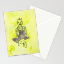 I've grown up to be a child! Stationery Cards