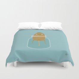 Potato Growth Duvet Cover