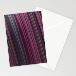 Fractal Rainbow pink Stationery Cards