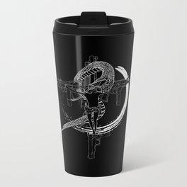 Jesus snake savage Metal Travel Mug