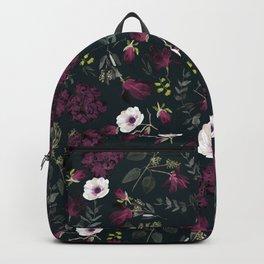Romantic Pattern - Dark Backpack