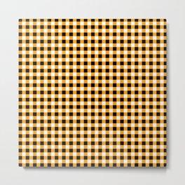 Checkbox Pattern Metal Print