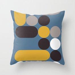 Domino 05 Throw Pillow