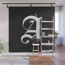 Letter A Wall Mural