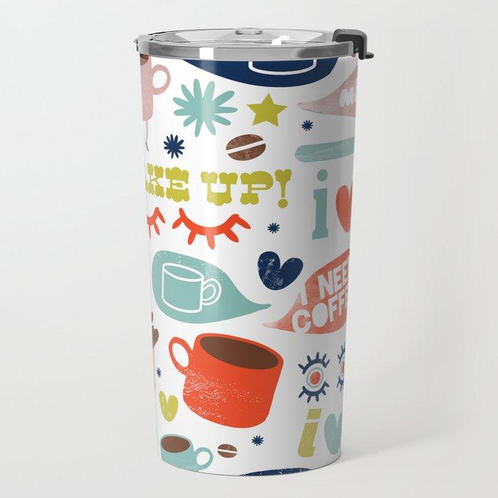 Caffeine Addict Travel Mug