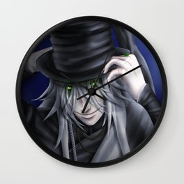 Undertaker Hat Tip Wall Clock