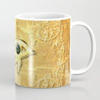 all seeing eye Mugs featuring The all seeing eye by nicky2342